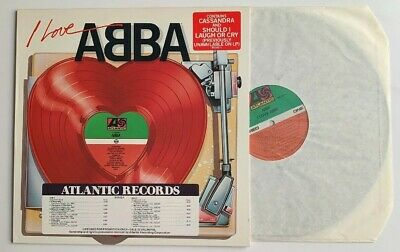 I Love Abba, PROMO LP w/ Hype -  Atlantic Records 80142-1, 1977, Synth-Pop, Rock