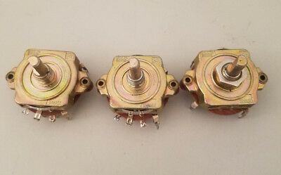 3 Unidex 249 10076032 Rotary Switch Switches