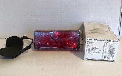 Tomar Rect-37 Ss Dual Strobe Red Light