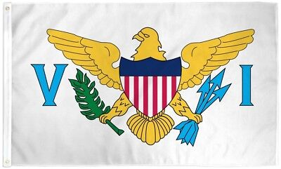 US Virgin Islands Flag 3x5 ft VI USVI State Saint St Croix John Thomas Caribbean