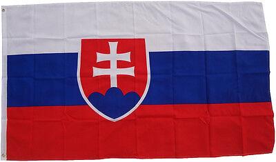 Bandiera Slovacchia 90 x 150 cm sollevamento tempesta dei paesi
