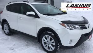 """2014 Toyota RAV4 Limited AWD """"""""LOADED"""""""" One Owner, Navigation Sy"""