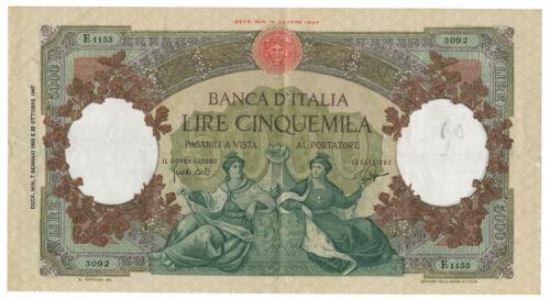 ITALY, ITALIA - 5000 Lire 7. 1. 1963. P85d. (T037)