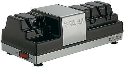 WARING ELECTRIC KNIFE SHARPENER THREE STATION COMMERCIAL - WKS800