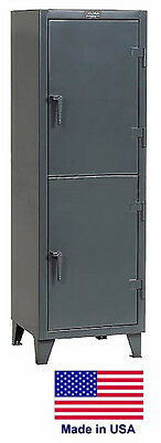 Personnel - Personal Locker Coml Industrial - 2 Lockers - 78 H X 24 D X 36 W