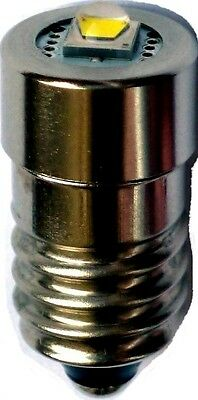 BMW Glove Box Flashlight Cree LED Upgrade Bulb MES E10 Screw Base Non-Polarity