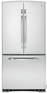 GE 22 CuFt Stainless Steel Refrigerator