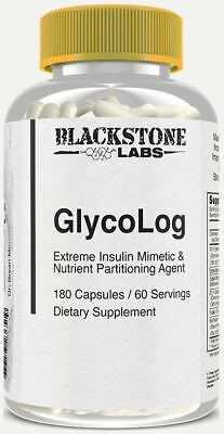 Blackstone Labs GLYCOLOG Nutrition Agent (180 Capsules) -  Metabolism / Fat Loss