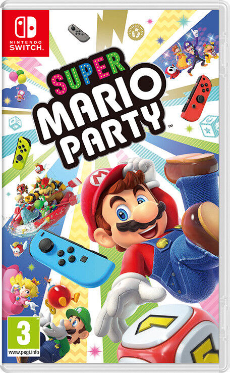 Super Mario Party Nintendo Switch Video Game Sealed Brand New
