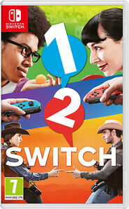 Nintendo 1-2 Switch (Game, Mint Condition, with Box)