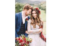 Gorgeous naturalistic wedding photography £500 Falkirk Stirling Glasgow Edinburgh