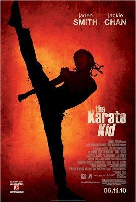 Karate Kid 2010 Filmposter ~ Kick Original 27x40 Jackie Chan Jaden Smith ()