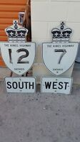 Collection of Old Kings Highway signs