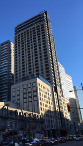 Downtown (place des arts) - 2 month sublet with hotel facilities