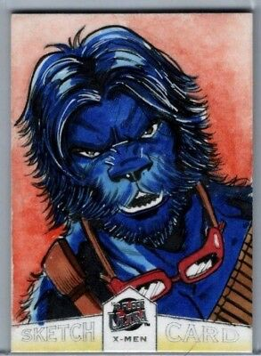 2018 Ultra X-Men Luiz Campello Sketch Beast