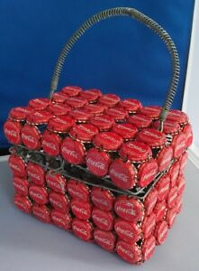 Unique Coke Coca-Cola soda pop bottle cap purse bag