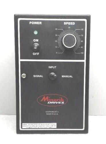 NEW MINARIK DRIVES PCM23401A-0624A SPEED CONTROLLER