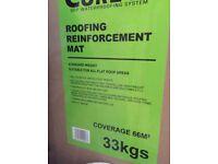 Roofing reinforcement mat for fibreglass fiber glass roof 66 sq.m