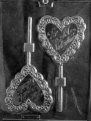 Be My Valentine Lollipop Chocolate Mold - V054