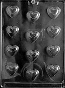 Chocolate Candy Molds Hearts