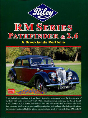 RILEY RM BOOK BROOKLANDS PORTFOLIO SERIES 1.5 2.5 2.6 1/2 PATHFINDER 1945-1959