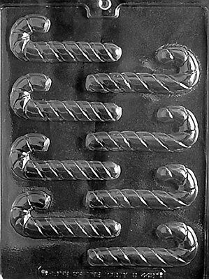 Small Candy Canes Chocolate Mold - C442