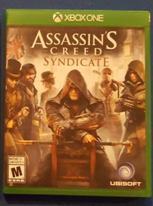 Xbox One : Assassin's Creed Syndicate usagé à vendre!