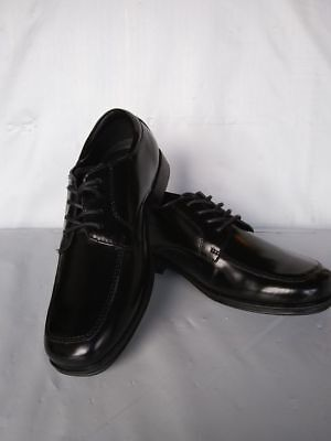 Kenneth Cole Boys Lace Oxford reg. $60 now $26.99 Black Box Leather (sheen) Lace Boys Oxford