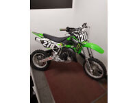 ******KAWASAKI KX65 FROM THE FACTORY A COMPETITION SPECCED BIKE ******