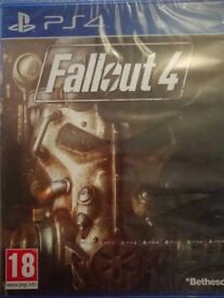 Unopened Fallout 4 PS4