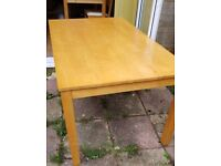 Dining table - seats 6-8