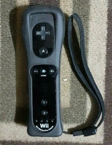 OEM Black Nintendo WII Motion Plus Controller