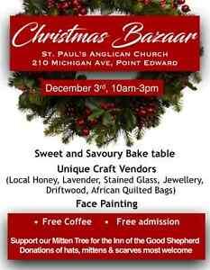 Christmas Bazaar at St. Paul's Point Edward Sarnia Sarnia Area image 1