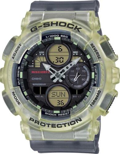 New Casio G-Shock Analog-Digital Resin Strap Unisex Watch GMAS140MC-1A