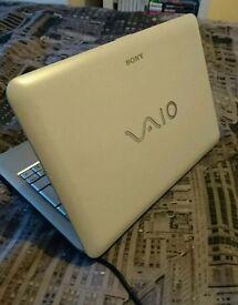 Sony vaio 10 inch laptop