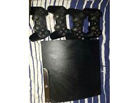 ps3 slim 34 games 4 controllers