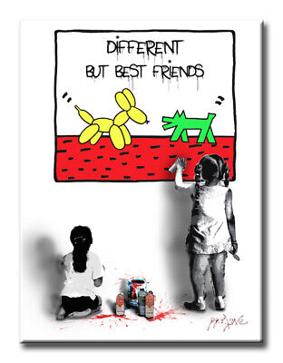 Best Friends Limited Edition  Print on fine art paper signed, by Dr8