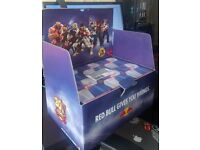 Red Bull - Streer Fighter V - 24 Pack - Codes + Cans + Box Only