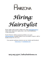 Hairstylist Position - Commission Based