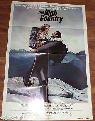 The High Country - Timothy Bottoms 27 x 41 Large Movie Poster Nice Graphics See