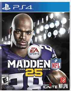 Like New Madden 25 PS4 $10
