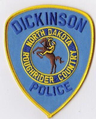 Dickinson Police Patch North Dakota ND