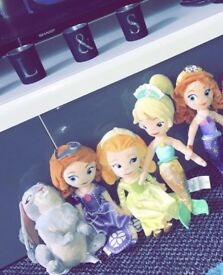 Sofia the first Disney shop toys