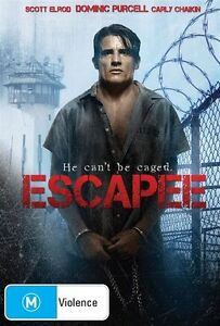 Escapee (DVD, 2012) THRILLER He can't be caged [Region 4] NEW/SEALED