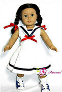 American Girl Doll Sailor Dress