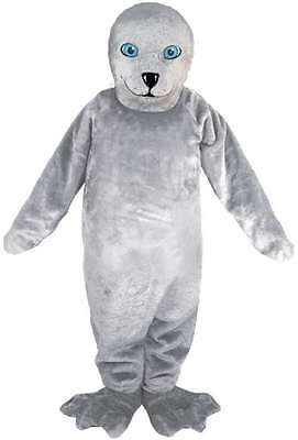 Grey Seal Professional Quality Lightweight Mascot Costume Adult - Seal Costume Adults