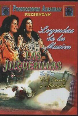Las Jilguerillas en DVD en VIVO, con Banda y Mariachi NEW Los Super Exitos