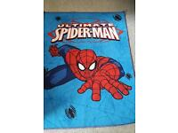 Spiderman rug