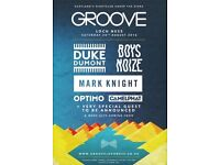 Groove Lochness Festival 2 X tickets