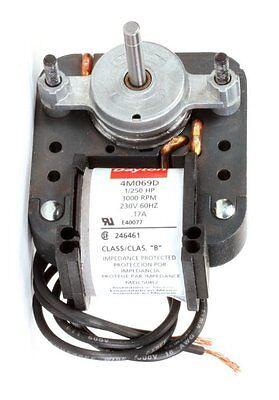 Dayton Electric C-frame Vent Fan Motor 1250 Hp 3000 Rpm 230v Model 4m069